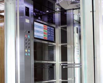 Ultra Low Power Player Runs Elevator Digital Signage